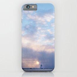 Sunset in Grand Marais, North Shore, Lake Superior, Minnesota iPhone Case