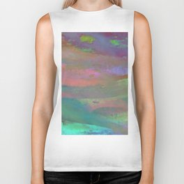 Inside the Rainbow 10 / Unexpected colors Biker Tank