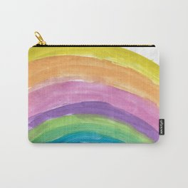 Rainbow Watercolor Carry-All Pouch