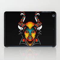 maleficent iPad Cases featuring Maleficent by Quakerninja