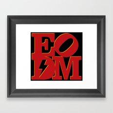 EODM - Variant Framed Art Print