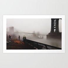 NY Fog Series No.2 Art Print