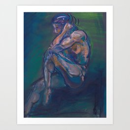 Figure II Art Print