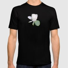 Lotus. SMALL Mens Fitted Tee Black
