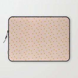 Polka Dot on pink, furniture, apparel and bag Laptop Sleeve