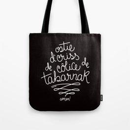 Sacres Québec - White Tote Bag
