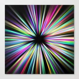Zoompainting 3 Canvas Print