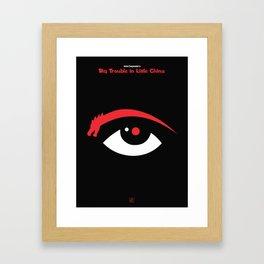 John Carpenter - Big trouble in littlechina Framed Art Print
