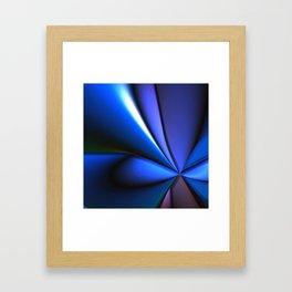 Pretty Smooth (Cool Tones) Framed Art Print