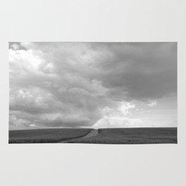 Supercell Thunderstorm, Montana 2013 Rug