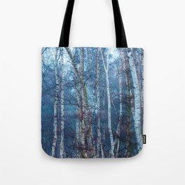 Dense Birch Tote Bag