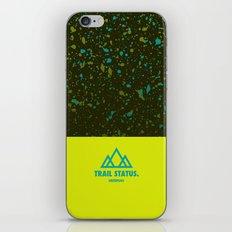 Trail Status / Green iPhone & iPod Skin