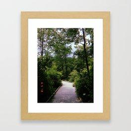 Huntley Meadows Framed Art Print