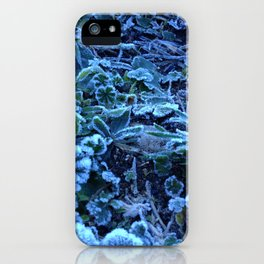 before snowing iPhone Case
