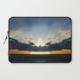 Abstract Environment 03: Volcano Laptop Sleeve