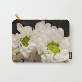 White Poms Carry-All Pouch