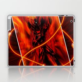 Fire and flames Laptop & iPad Skin