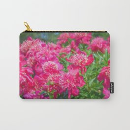 Blooming Peonies Carry-All Pouch