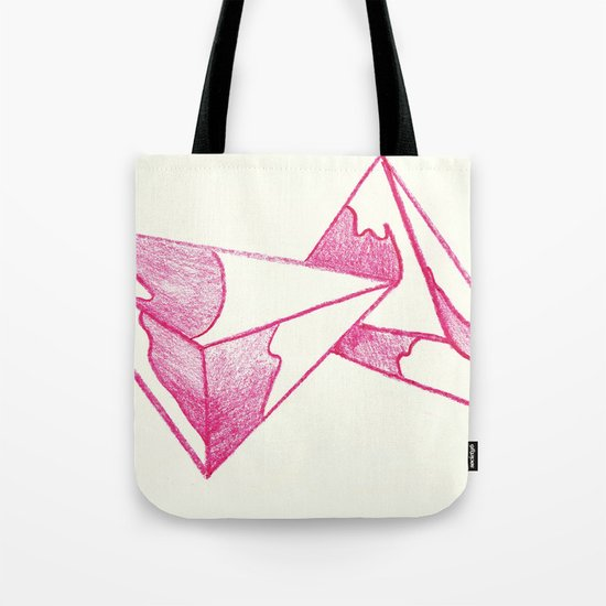 CRAYON LOVE: Strawberry Milk From The FUTURE Tote Bag