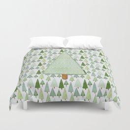 Pine Collage Duvet Cover