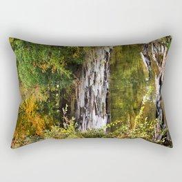 Fall Creek Landscape Rectangular Pillow