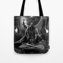 I. The Magician Tarot Card Illustration Tote Bag