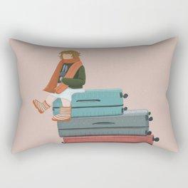 Little traveler Rectangular Pillow