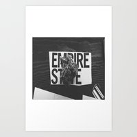 medical Art Prints featuring empire medical by fat dominic