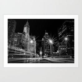 Magnificent Mile - Chicago Art Print