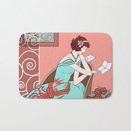 CLARICE: Art Deco Lady - Late Summer Bath Mat