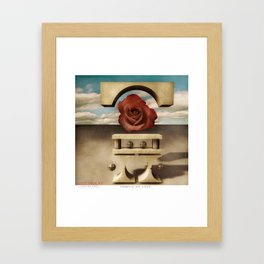 Temple of Love Framed Art Print