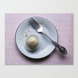 Apple Cider Cake Truffles: Take One Canvas Print