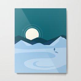 Artic exploration Metal Print