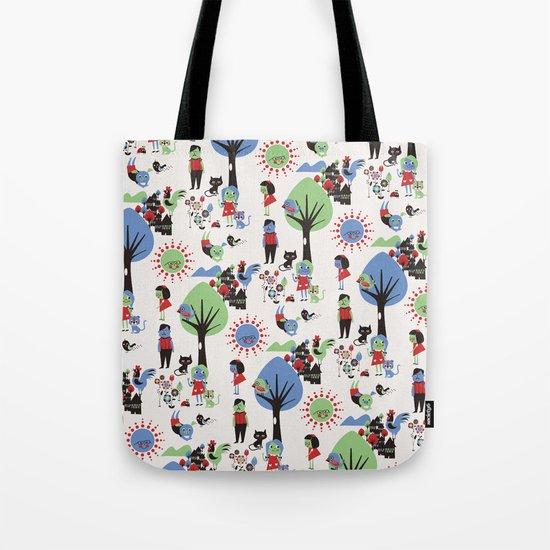 Beautiful day pattern Tote Bag