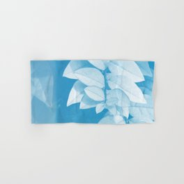 Leaves in Blue Hand & Bath Towel