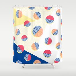 Japanese Patterns 01 Shower Curtain