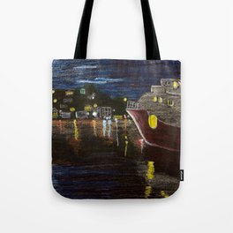 Moonlit Carenage Tote Bag
