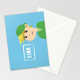 Link (as a teenager) Stationery Cards