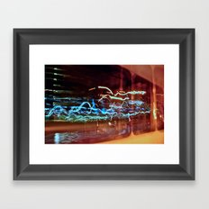 Long Exposure II Framed Art Print