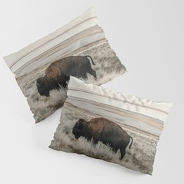 Bison of Antelope ISland Pillow Sham