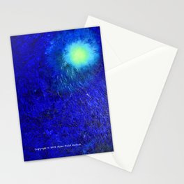 """""""Forming The Pacific Rim"""" Oil Painting Stationery Cards"""