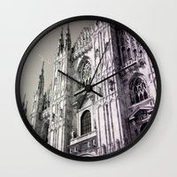 milan Wall Clocks featuring Milan by very giorgious