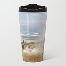 WHERE THE BUFFALO ROAM Travel Mug