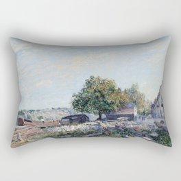 Alfred Sisley - Saint Mammes-Morning Rectangular Pillow