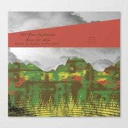 Title Page Canvas Print
