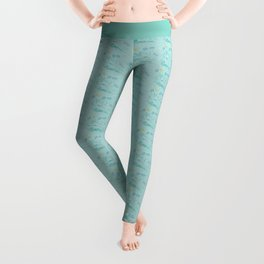 I Love You Just The Way You Are Leggings