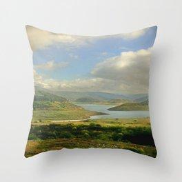 Alpine Ranges Throw Pillow