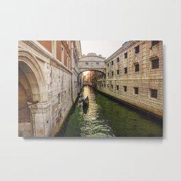 Venice's sunset Metal Print