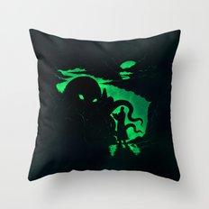 Summon Throw Pillow