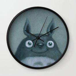 The Silver Fluffhugger Wall Clock